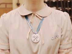 Agatha details. From Wes Anderson's Grand Budapest Hotel. Costume Designer: Milena Canonero.