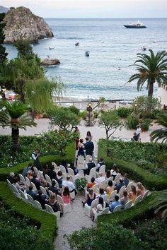 TAORMINA BEACH WEDDINGS SICILY
