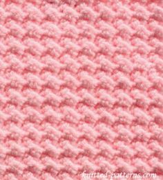 "Baby Bobbles - Uses half-double crochet with chain & skip a stitch. Found difficult to ""find"" the chain. Not used 3-2016"