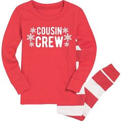 Red  Cousin Crew  Snowflake Pajama Set - Toddler  amp  Kids Family  Christmas Pajamas 3d5b0eacc