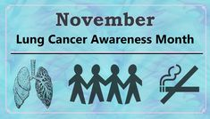 November is Lung Cancer Awareness Month: Lung cancer is the second most common type of cancer (after breast cancer). However, it is the most deadly.