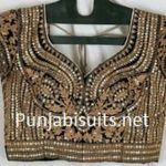 Latest blouse fashion http://punjabisuits.net/saree-blouse-designs/