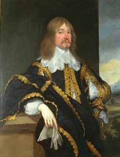 """""""John, Baron Craven of Ryton"""" by a follower of Anthony van Dyck (1643-1647) at the Courtauld Gallery, London"""