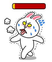 Brown and Cony Line Stamps Cony Brown, Brown Bear, Body Type Workout, Bear Gif, Line Game, Cute Love Gif, Mocha Brown, Line Friends, Free Stickers