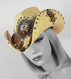 Apache Cowgirl Hat-apache, cowgirl hat, straw