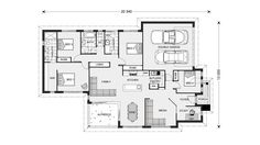 Bedarra 213, Home Designs in Bathurst | GJ Gardner Homes House Size 212.8 m2