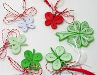 Paper Quilling Jewelry, 8th Of March, Paper Cutting, Origami, Projects To Try, Miniatures, Paper Crafts, Baba Marta, Pictures