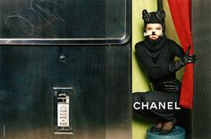 Chanel Ads - Fall 2011 Model: Freja Beha Erichsen Photographer: Karl Lagerfeld Styled by Carine