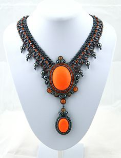 """Grimalda"" necklace by Sigel"