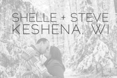 Shelle & Steve are in Love :: Keshena WI Engagement - Alison Kundratic Photography