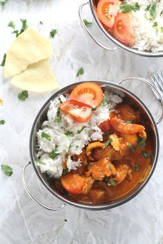 Easy Dinner Recipe - A quick cook from scratch Chicken, Coconut & Tomato Curry recipe. Really mild and suitable for kids! | My Fussy Eater blog