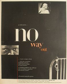 Watch No Way Out 1950 Full Movie Online Free