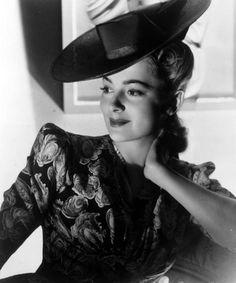 Portrait of Olivia de Havilland, circa 1945. The actor celebrates her 100th birthday on July 1st 2016
