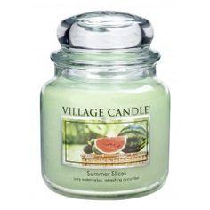 Village Candle Medium Jar - Summer Slices