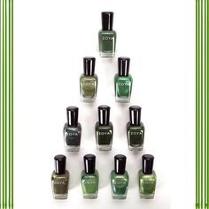 Happy Holidays! Green Zoya Nail Polish