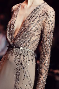 Elie Saab ~  fall 2013 couture details