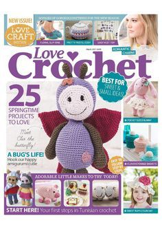 Love Crochet  March 2017 - 轻描淡写 - 轻描淡写