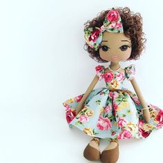 Lacey Lane Summah Doll by Upper Dhali personalised keepsake