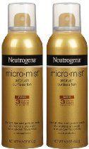 Neutrogena Micro-Mist Tanning Sunless Spray-5.3 oz, 2 pack