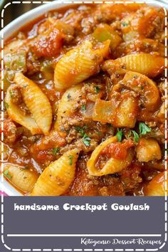Crockpot Goulash is an easy to make slow cooker meal! Tender ground beef, bell p… Crockpot Goulash is an easy to make slow cooker meal! Tender ground beef, bell peppers and onions are simmered in a zesty tomato sauce all day for the perfect meal. Crockpot Goulash Recipe, Goulash Recipes, Crockpot Dishes, Crock Pot Slow Cooker, Crock Pot Cooking, Slow Cooker Recipes, Cooking Recipes, Crockpot Stuffing, Meal Recipes