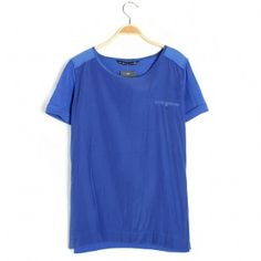 Solid Color T-shirts With Short Sleeves