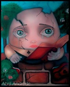 """""""humpty dumpty""""   abril andrade griffith"""