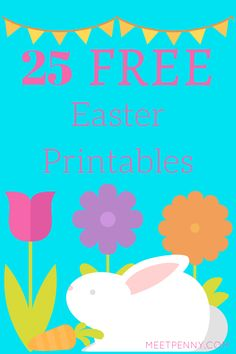 A great list of free Easter printables