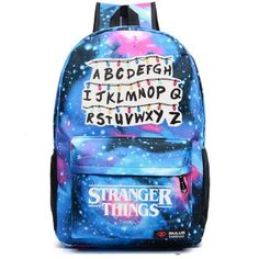 Must get the coolest stranger things backpack ever that I've seen!