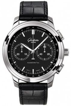 Часы Glashutte Original 39-34-20-42-04 Senator Chronograph XL