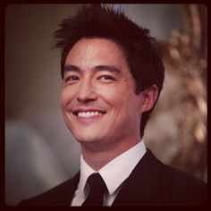 When he sported fluffy, ruffle-able, David Tennant-esque hair. | 43 Times Daniel Henney Ruined You For Other Men