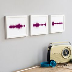 Personalized Voice Sound Wave Art Lets You See What Is Meant To Be Heard - #art #sound #voice