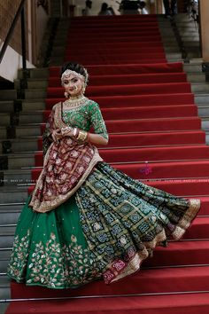 11 Best Bridal Lehenga Colors for this Wedding Season Indian Bridal Outfits, Indian Bridal Lehenga, Indian Bridal Fashion, Indian Bridal Wear, Indian Designer Outfits, Indian Dresses, Bridal Dresses, Indian Bridal Makeup, Bridal Beauty
