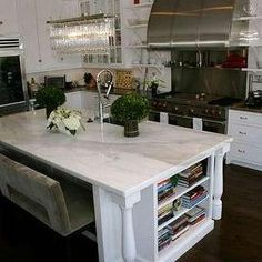 1000 Images About Kitchen Islands On Pinterest Marble Top, Black Chandelier And Purple Kitchen photo - 5