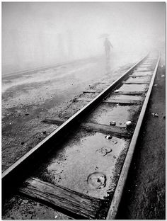rail tracks by Soumya Bandyopadhyay, via Flickr
