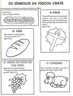 símbolos da pascoa