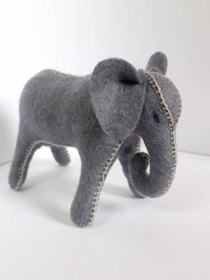 Dark big gray wool felt elephant wool stuffed animal toy for boys gift for boys organic toy gift for girls eco toys natural gift role play Great Gifts For Women, Toys For Girls, Gifts For Girls, Waldorf Toys, Handmade Toys, Homemade Gifts, Pet Toys, Dinosaur Stuffed Animal, Stuffed Elephant