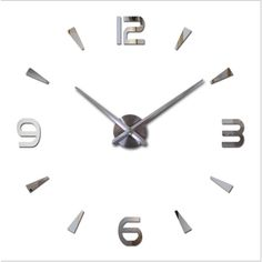 Promotion price 2017 new wall clock reloj de pared quartz watch living room large decorative clocks modern horloge murale still life stickers just only $8.83 - 14.55 with free shipping worldwide  #clocks Plese click on picture to see our special price for you