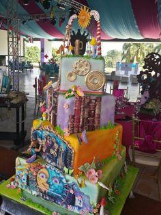 torta tematica TOMORROWLAND