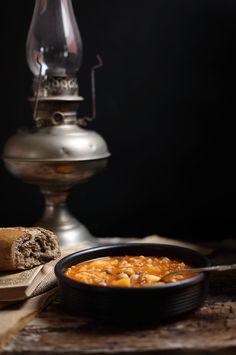 Receta de rancho canario, un guiso de la cocina tradicional canaria para chuparse los dedos.