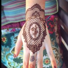 45 Attractive Lace Tattoo Designs that're really chic