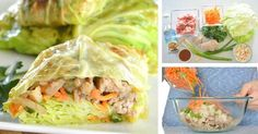Asian-Style Cabbage Wraps Recipe | Paleo, Gluten Free, Healthy