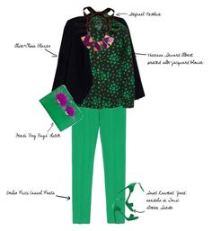 """""""Funky Dream"""" by fashionscribbles ❤ liked on Polyvore"""