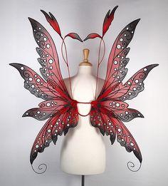 On Gossamer Wings - Adult's Fairy Wings Adult Fairy Wings, Diy Fairy Wings, Wings Diy, Fairy Land, Fairy Tales, Amy Brown Fairies, Dark Fairies, Fantasy Fairies, Elves Fantasy