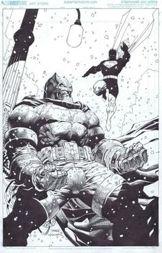 The Dark Knight The Master Race variant cover by Jim Lee, inks by Scott Williams (DC comics) Jim Lee Batman, I Am Batman, Batman Vs Superman, Spiderman, Batman Dark, Comic Book Artists, Comic Artist, Comic Books Art, Batman Painting