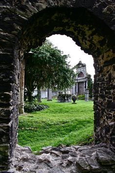 St. Bavo Abbey, the Cloister, Ghent, Belgium