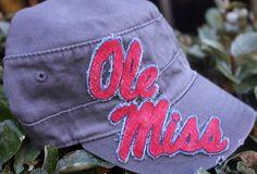 93eb595cdbc57 Items similar to Ole Miss Cadet Hat on Etsy