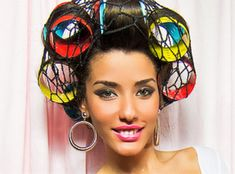Big Hair Rollers, Wet Set, Perm Rods, Hair Nets, Roller Set, Curlers, Bellisima, Curly Hair Styles, Hair Beauty