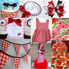 We are soo having a picnic party for Lolah's 3rd Birthday!