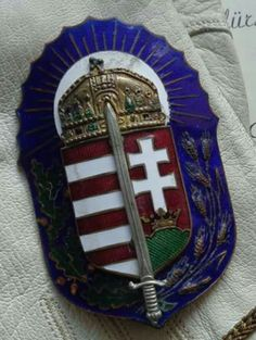 Hungarian Tattoo, Mole Tattoo, Heart Of Europe, Budapest Hungary, Coat Of Arms, Badge, History, Country, Retro