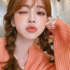 Asian Makeup Looks Korean Popular Ideas Korean Makeup Look, Asian Makeup, Korean Beauty, Asian Beauty, Ulzzang Korean Girl, Cute Korean Girl, Cute Asian Girls, Make Up Looks, Cute Makeup